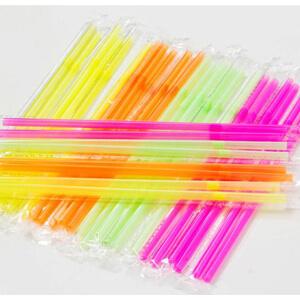 single drinking straw film packaging