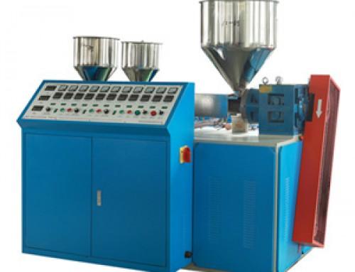 three color drinking straw making machine